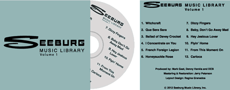 Seeburg Volume 1 CD